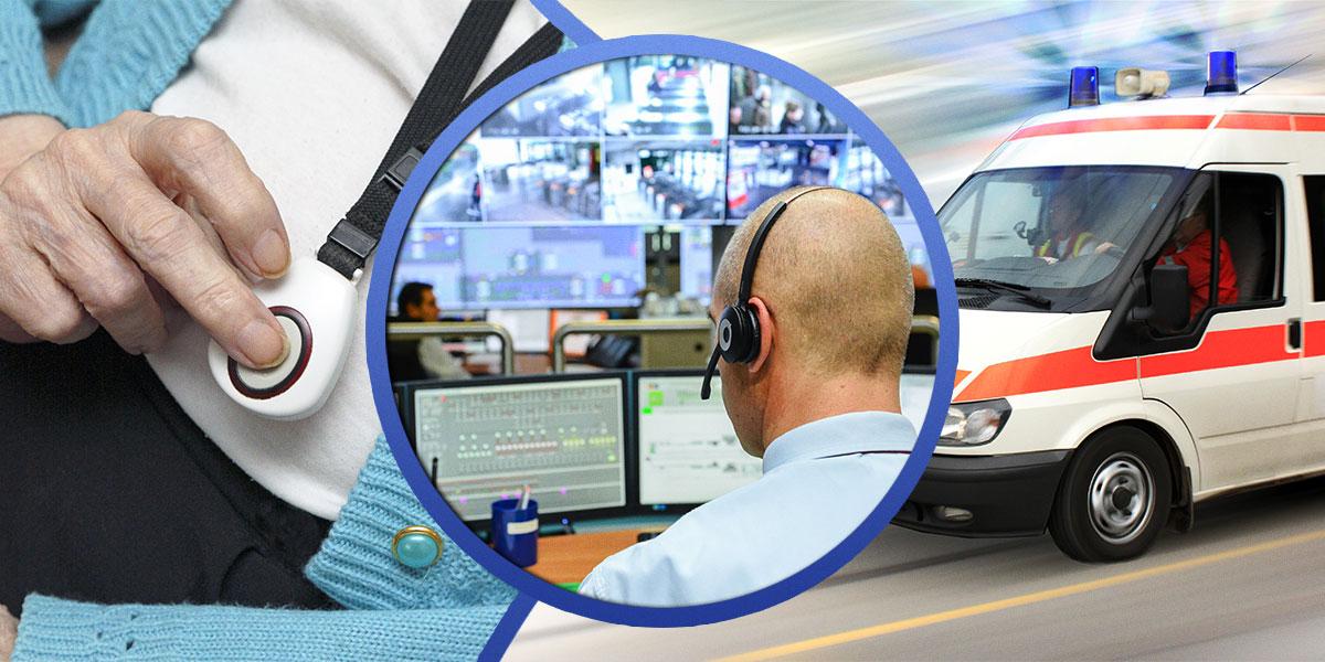 Être reliés à un centre de contrôle de télésurveillance a des avantages intéressants pour quelqu'un qui veut être en sécurité