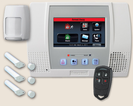systeme domotique securite honeywell