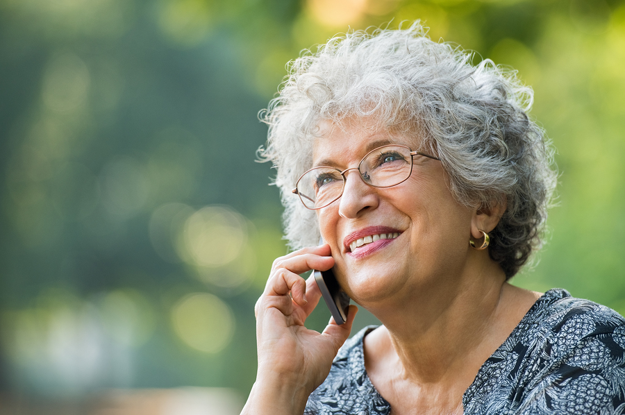 téléphone mobile pour aîné