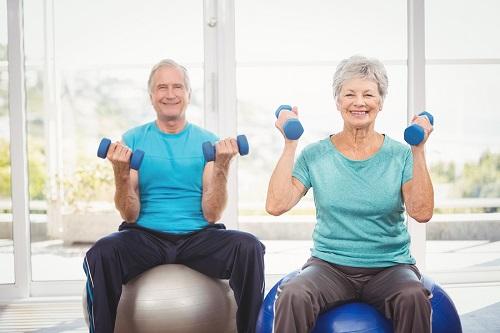 Exercices pour aînés