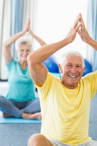 Yoga, activité pour personnes âgées
